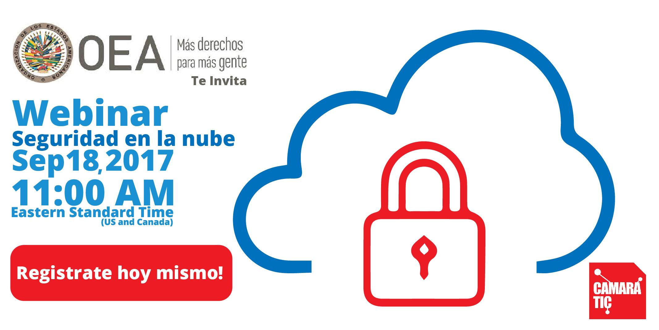 webinar seguridad en la nube
